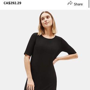 Eileen Fisher soft t-shirt dress